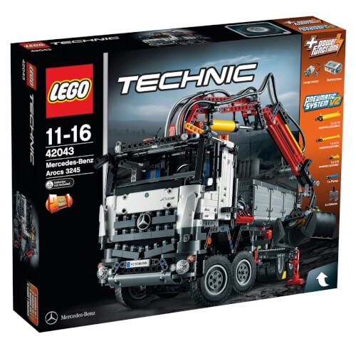 LEGO® Technic 42043 Mercedes Benz Arocs 3245 42043 ▷ jetzt