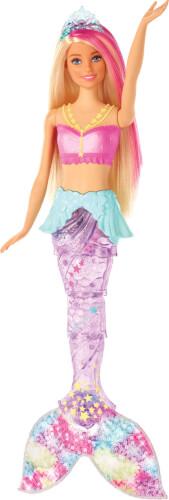 Mattel GFL82 Barbie Glitzerlicht Meerjungfrau (mit Licht)