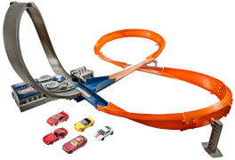Mattel Hot Wheels Raceway inklusive 5 Basic Cars