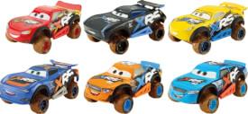 Mattel GBJ35 Cars XRS Schlammrennen Die-Cast sortiert