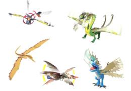 Spin Master Drachenzähmen leicht gemacht Dreamworks Dragons Action Drache