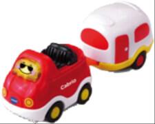 Vtech 80-152404 Tut Tut Baby Flitzer - Cabrio und Wohnwagen, ab 12 Monate - 5 Jahre