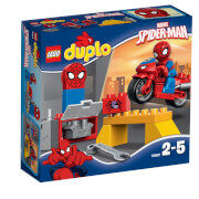 LEGO® DUPLO® 10607 New IP 2014 Spider-Man - Motorrad-Werkstatt