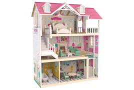 Puppenhaus mit Möbeln