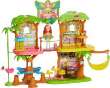 Mattel GFN59 Enchantimals Dschungelwald-Café Spielset