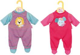Zapf BABY born® Kleider Kollektion Dolly Moda Strampler, Größe 38-46cm, mehrfarbig, ab 3 Jahren