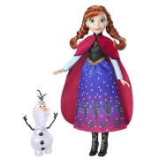 Hasbro B9200ES0 Disney Frozen - Die Eiskönigin Zauber der Polarlichter Anna & Olaf