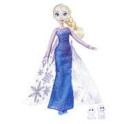 Hasbro B9201ES0 Disney Frozen (Die Eiskönigin) - Zauber der Polarlichter Elsa & Schneechen, ab 3 Jahren