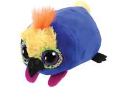 TY Teeny Tys - Papagei Diva, Plüsch, ca. 7x6x10 cm