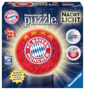 Ravensburger 12177 Puzzleball Nachtlicht FC Bayern München 72 Teile