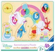 Ravensburger 36851 Disney Baby Winnie und seine Freunde, 10 Teile