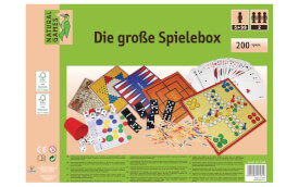 Natural Games Holz-Spielesammlung 200 in 1