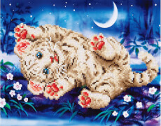 Diamond Dotz Baby Tiger 35,5 x 27,9 cm