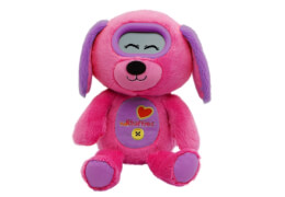 Vtech 80-194004 KidiFluffies - Hund, ab 4 - 10 Jahre, Stoff, pink