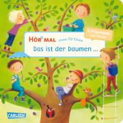 Verse für Kleine: Das ist der Daumen ...: und andere Fingerspiele mit Musik (Hör mal), Pappbilderbuch, 14 Seiten, ab 12 Monate
