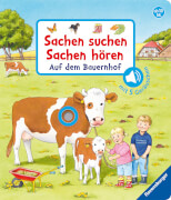 Ravensburger 43734 Bilderbuch: Sachen suchen, Sachen hören: Auf dem Bauernhof