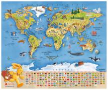 Felix-Weltkarte (mit Ting-Stift nutzbar)