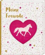 Freundebuch: Pferdefr. - Meine Freunde (m. Wendepailletten)