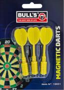 Bull's Magnetic Dartpfeile farblich sortiert