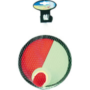Outdoor active Catchballspiel mit Klett, # 19 cm