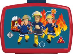 Feuerwehrmann Sam Brotdose mit Einsatz
