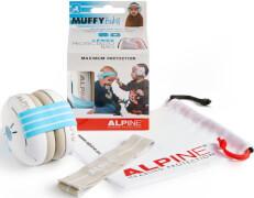 Alpine Muffy Baby Blau - Kapselgehörschützer für Babys und Kleinkinder, ab 3 Monaten